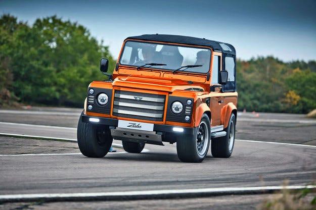 JE Engineering Land Rover Defender Zulu²