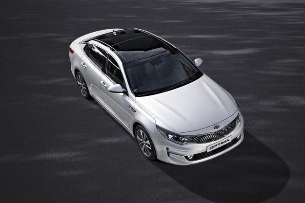 Представиха европейската версия на Kia Optima