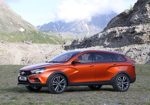 АвтоВАЗ представи офроуд версия на Lada Vesta
