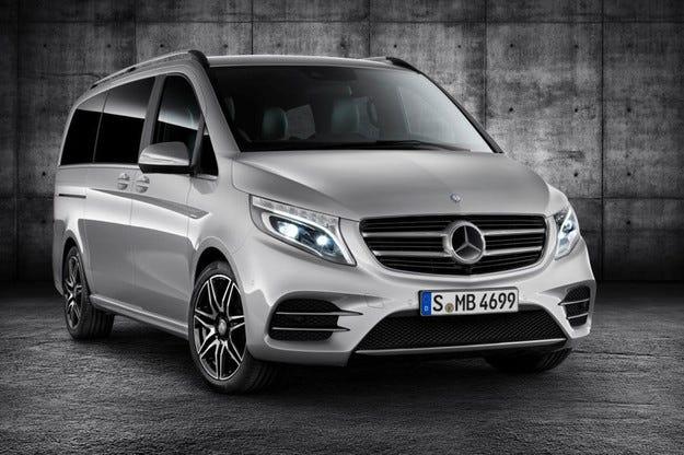 Mercedes-Benz представи гореща версия на V-класата