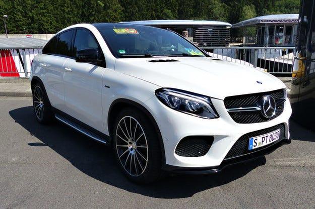 Екълстоун смени личния си Maybach с Mercedes GLE