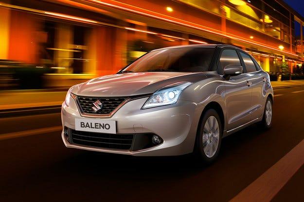 Японската компания Suzuki разкри хечбека Baleno