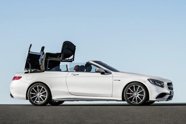 Mercedes-Benz разкри четириместния кабриолет на S-класата