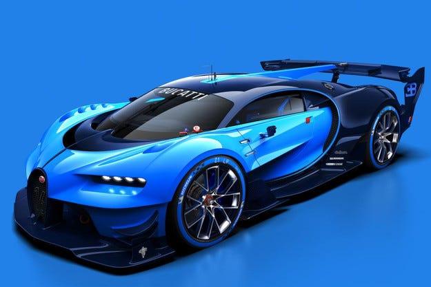 Buggati разкри концепцията Vision Gran Turismo