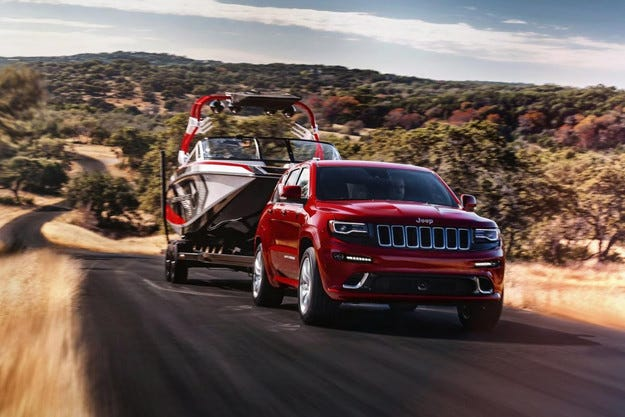 Jeep представи обновения Grand Cherokee SRT