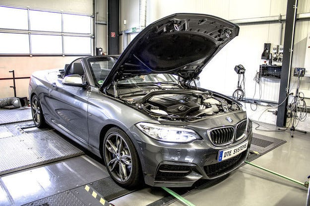 DTE-Systems настройва BMW M235i Extra-Power