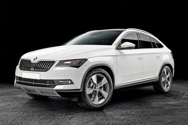 Компанията Skoda ще разработи конкурент на BMW X4