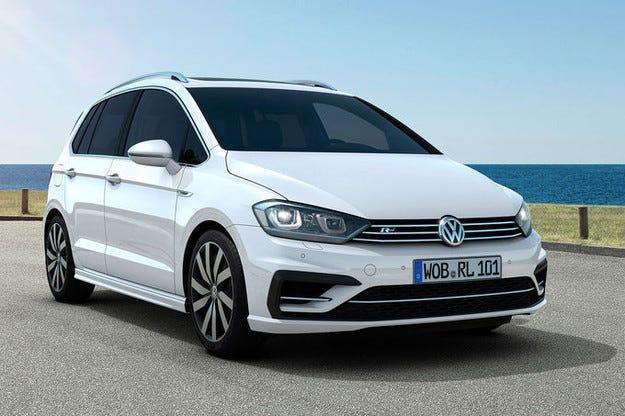 VW Golf Sportsvan R-Line: Спортна семейна каляска