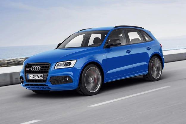 Audi добави още конски сили на кросоувъра SQ5