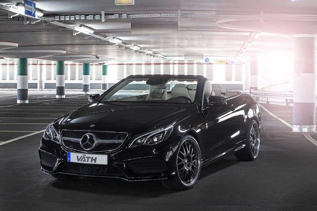 Väth-Mercedes E 500 Cabrio вече генерира 550 к.с.