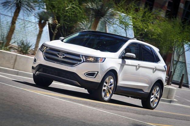 Ford Edge 2015: Нов луксозен кросоувър за Европа