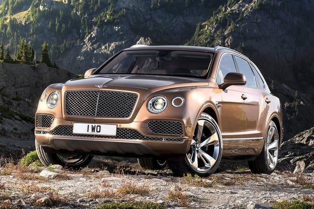 Bentley представи своя първи кросоувър Bentayga