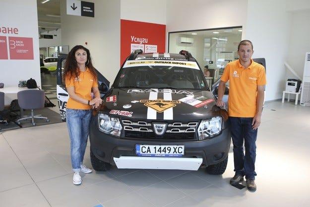 Dacia Rally Team отново се впуска в Balkan Offroad Rally