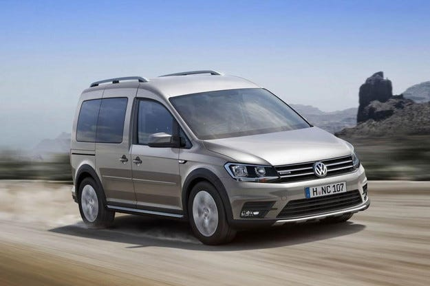 Volkswagen представя офроуд версия на Caddy