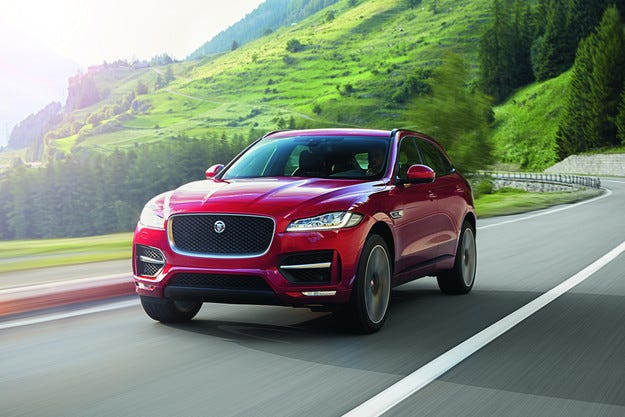 Jaguar представи първия в историята си кросоувър