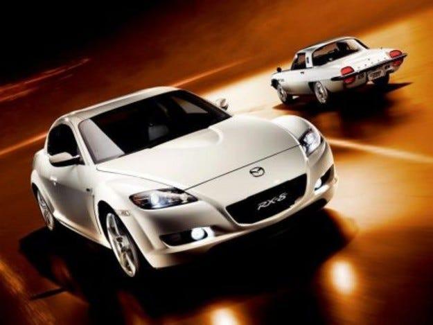 Mazda RX8: 40th Anniversary