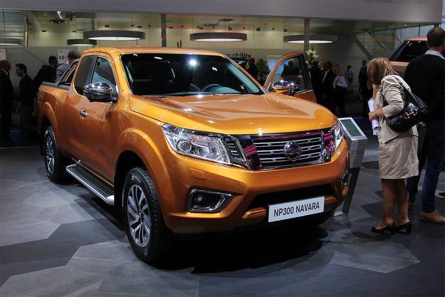 Европейската версия на Nissan Navara с нов дизелов двигател