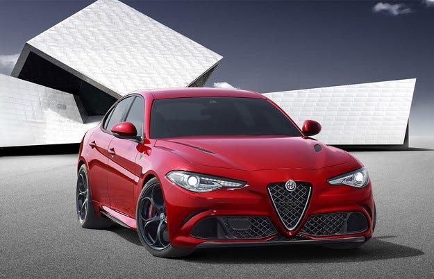 Alfa Romeo почва продажбите на Giulia в Европа до дни
