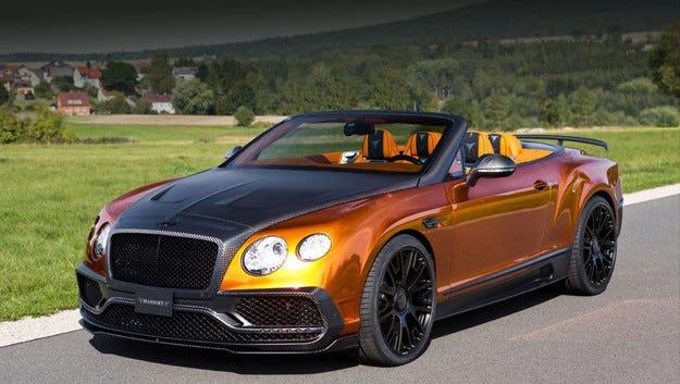 Mansory направи кабриолета Bentley Continental по-динамичен