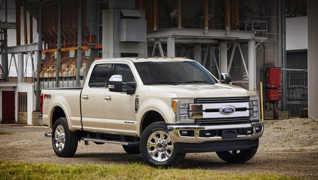 Пикапът Ford F-Series Super Duty стана алуминиев