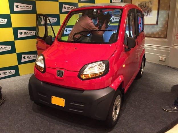 В Индия направиха най-евтиния автомобил в света