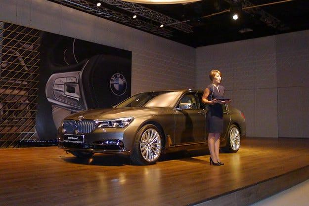 Новото BMW Серия 7 или бъдещето още днес