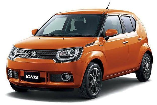 Suzuki Ignis прави премиера в Токио като кросоувър