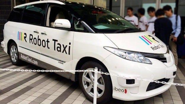 В Япония ще се появят таксиметрови коли без шофьори