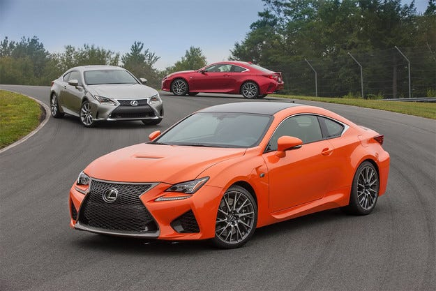 Спортното купе Lexus RC получава нов турбо двигател