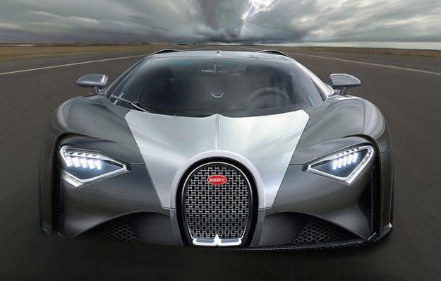 Папараци издебнаха Bugatti Chiron преди краш тестове