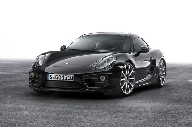 Porsche Cayman Black Edition: Cayman в черно