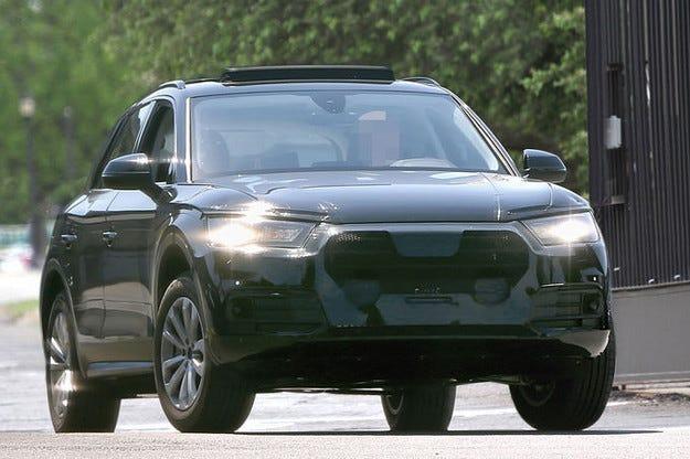 Наш ловец на прототипи успя да улови Audi Q5 (2016)