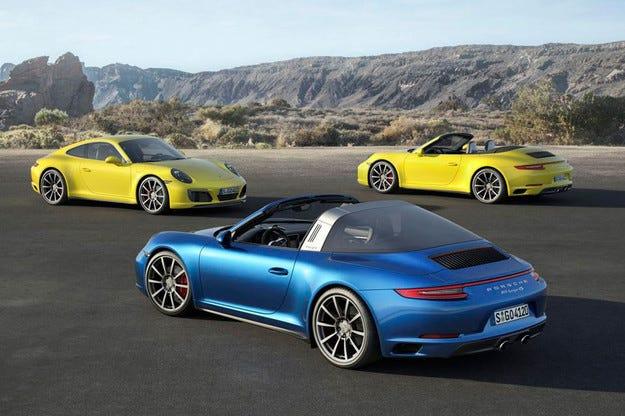 Porsche 911 Carrera и Targa получават нов турбо мотор