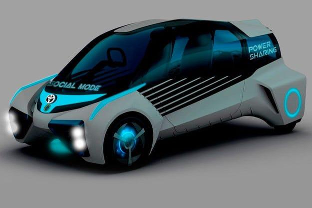 Toyota ще покаже в Токио нова водородна концепция
