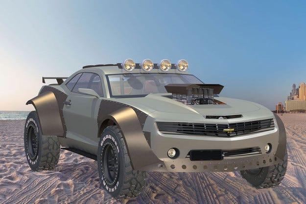 Rüffer Camaro Troubleshooter: Пустинята се тресе