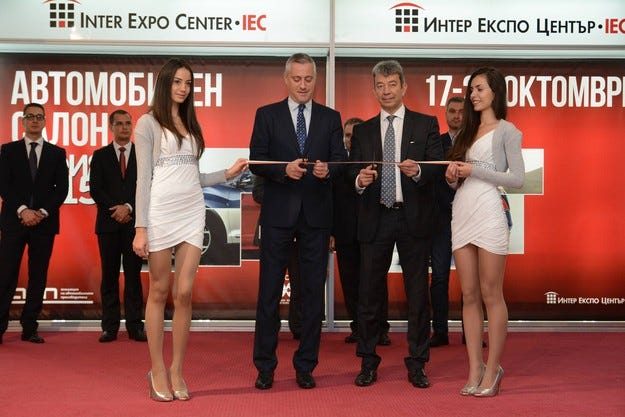 Министър Божидар Лукарски откри Автосалон София 2015