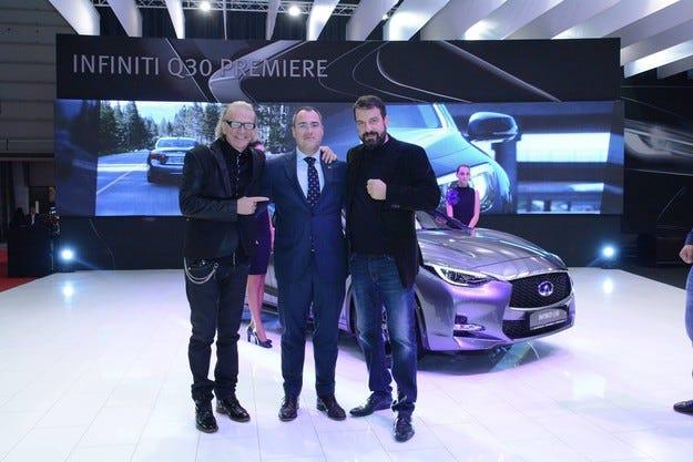 Новият премиум автомобил Infiniti Q30 дебютира в София