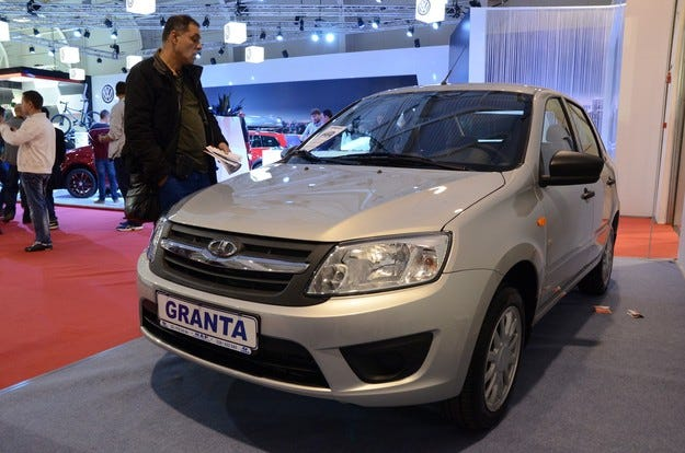Представят нови модели на Lada на изложението в София