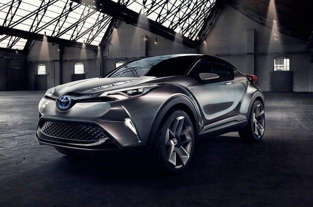 Toyota ще покаже в Женева конкурент на Nissan Juke