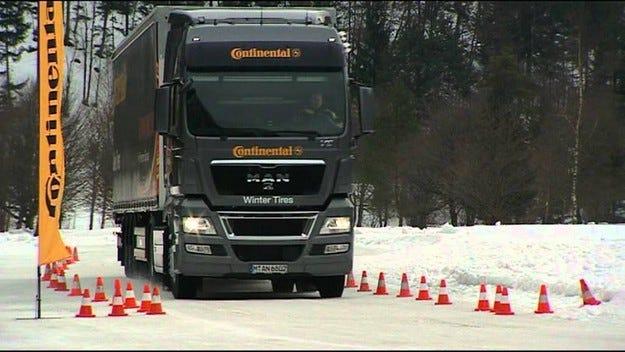 Continental предлага специално създадени гуми за зимата