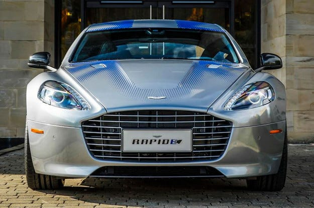 Aston Martin показа електрическа версия на Rapide