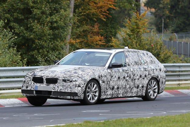 Прототипът BMW 5 (2016): Новата Серия 5 като комби