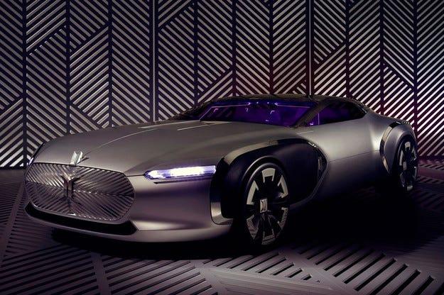 Renault създаде концепт в чест на дизайнера Льо Корбюзие
