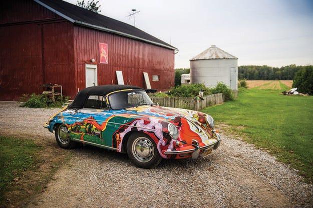 Обявиха за продан Porsche 356 на Джанис Джоплин