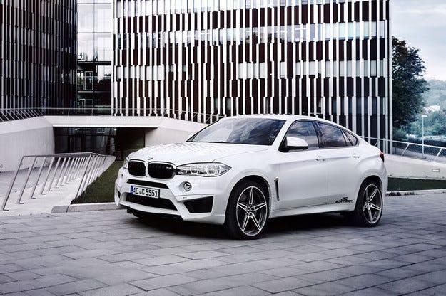 BMW X6M на AC Schnitzer: 650 к.с. за кросоувъра-купе