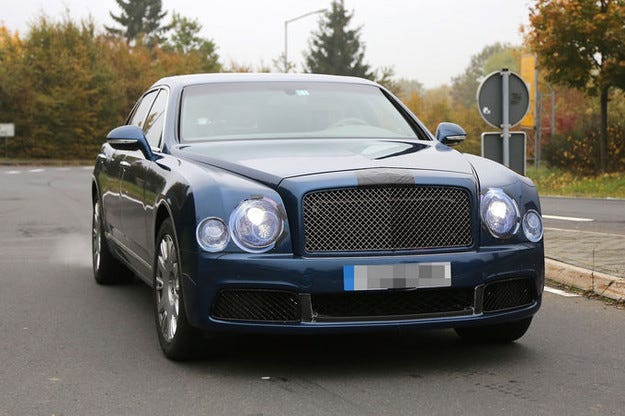 Bentley Mulsanne (2016): Променят луксозния лайнер