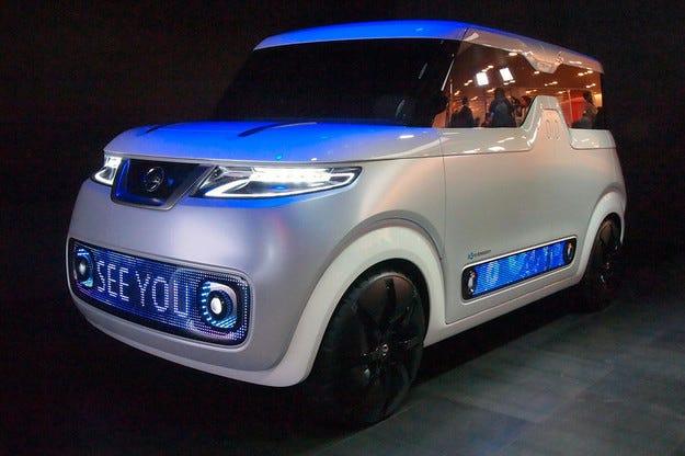 Nissan представи автомобил за феновете на социалните мрежи