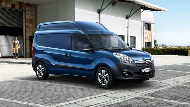 Продажбите на Opel Vivaro, Movano и Combo нарастват