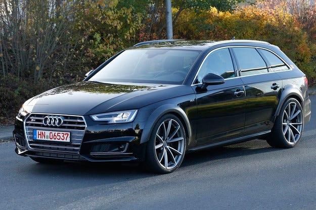 За първи път новият Audi RS4 е забелязан на тестове