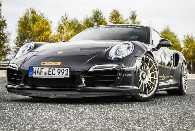 Edo Competition Porsche 911 Turbo вдига 341 км/ч